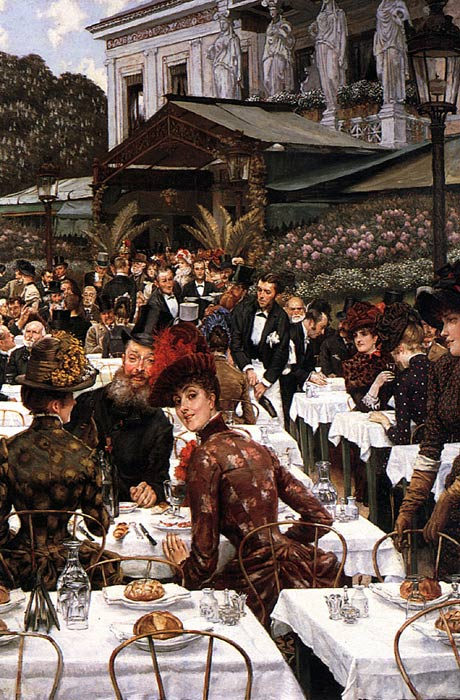 James Jacques Joseph Tissot Reproductions-The Artist's Ladies, 1883-1885