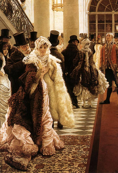 The Woman of Fashion, 1883-1885 Tissot, James Jacques Joseph Painting Reproductions