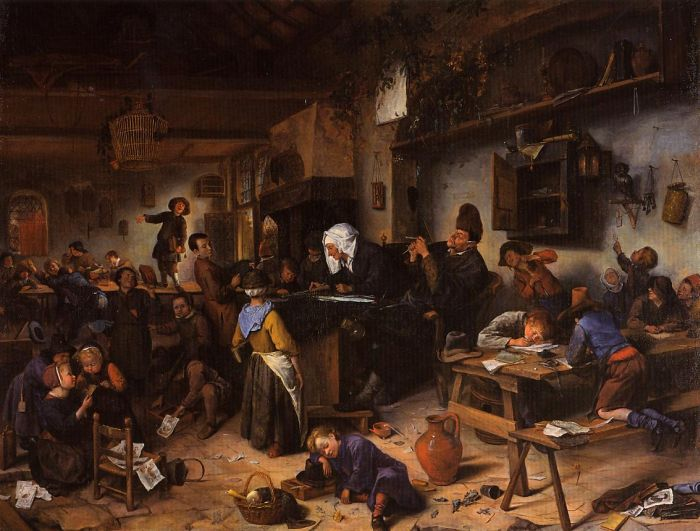 Paintings Jan Steen