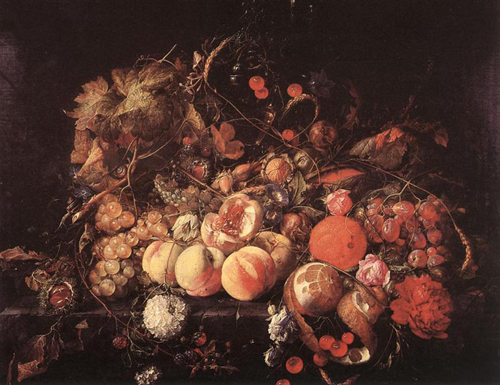 Paintings Reproductions Heem, Jan Davisz de Still-life