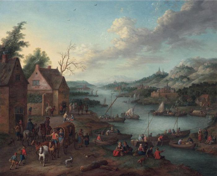 Paintings Jan Frans van Bredael