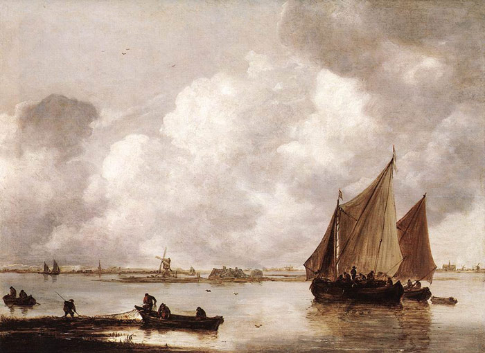 Paintings Jan van Goyen