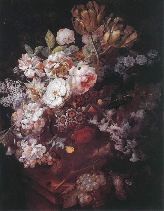 Paintings Huysum, Jan van