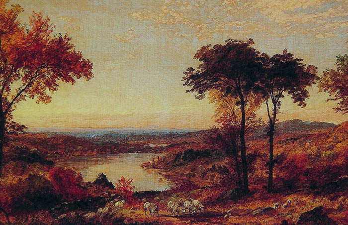 Jasper Francis Cropsey Reproductions-Wyoming Valley, Pennsylvania, 1897