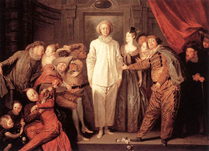 Paintings Jean- Antone Watteau