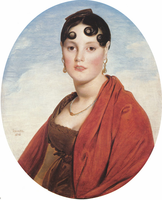 Jean Auguste Dominique Ingres Reproductions-Madame Aymon, known as La Belle Zelie