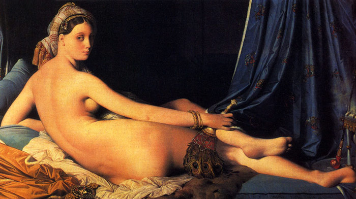 The Grande Odalisque, 1814 Ingres, Jean Auguste Dominique Painting Reproductions