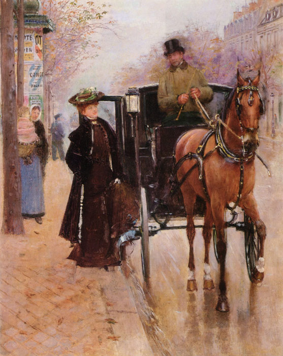 Jean Beraud Reproductions-Home, Driver !