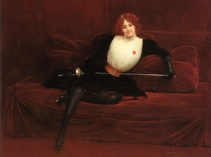Jean Beraud Reproductions- The Swordswoman.