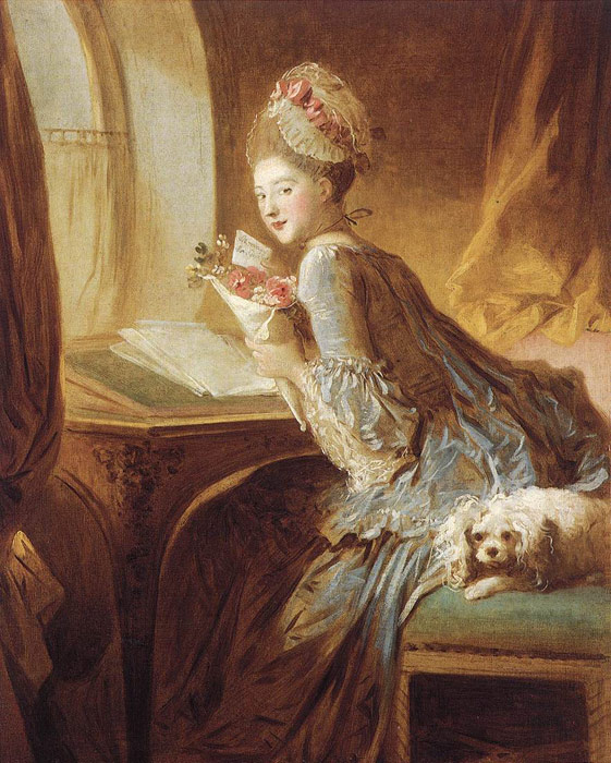 Paintings Jean- Honore Fragonard