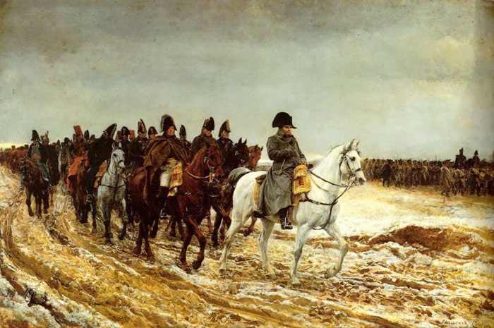 Paintings Reproductions Meissonier, Jean- Louis The French Campaign, 1861