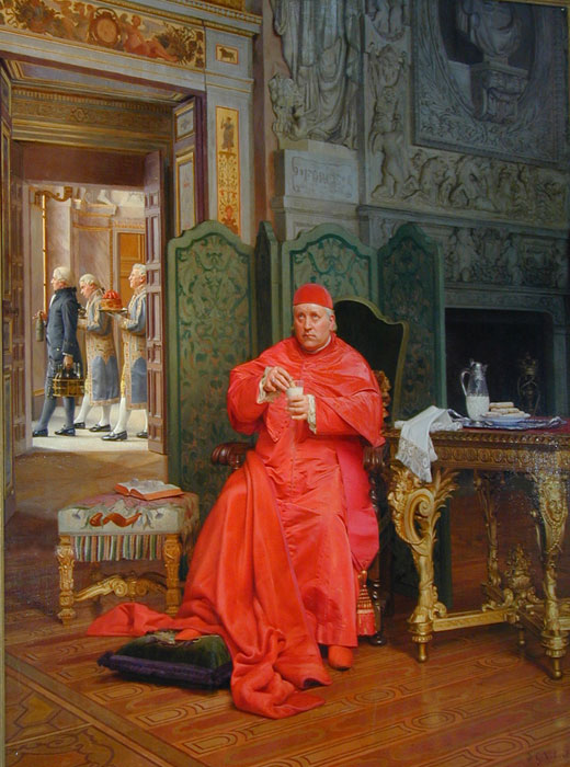Jehan Georges Vibert Reproductions-The Diet