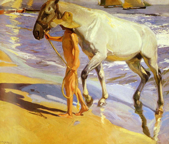 Paintings Joaquin Sorolla y Bastida