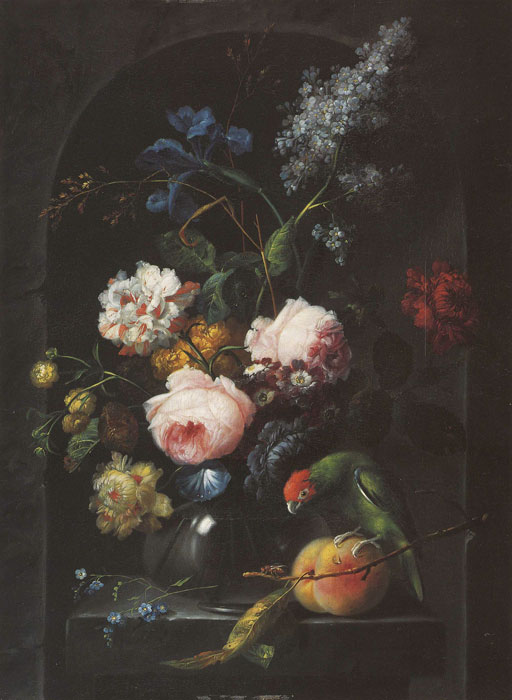 Paintings Reproductions Drechsler, Johann Baptist Blumenstilleben, 1789