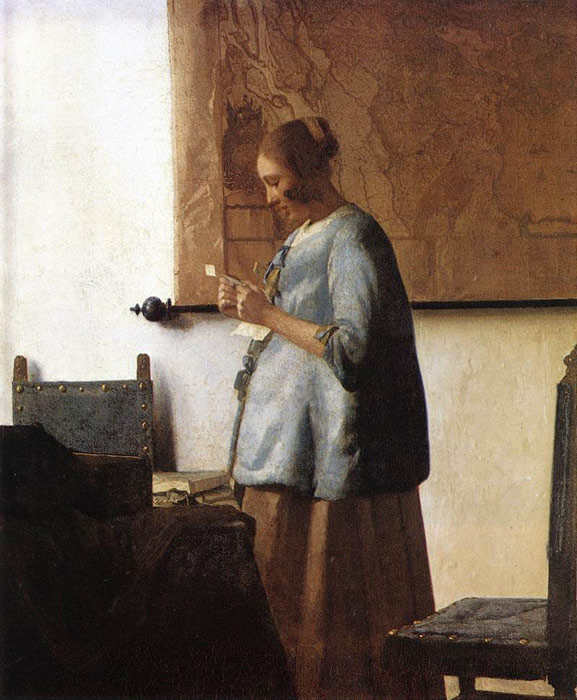 Paintings Johannes Vermeer