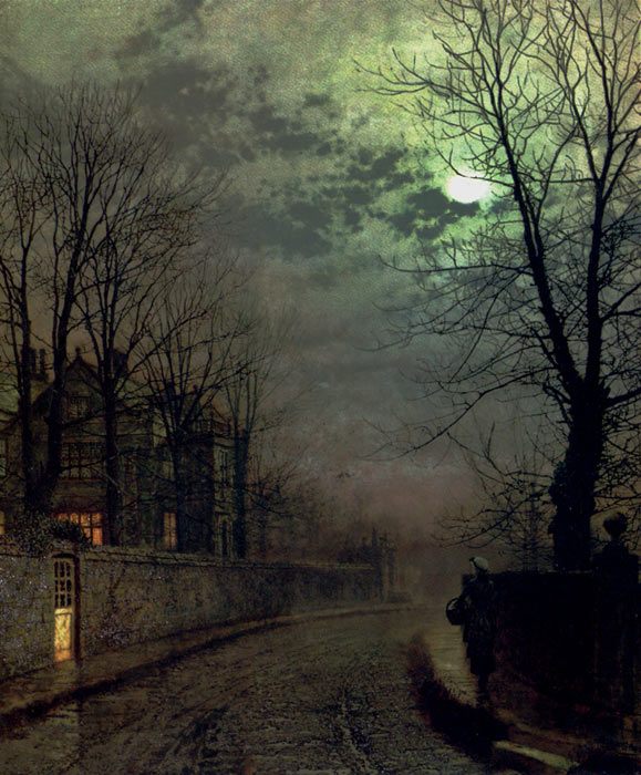 Paintings John Atkinson Grimshaw