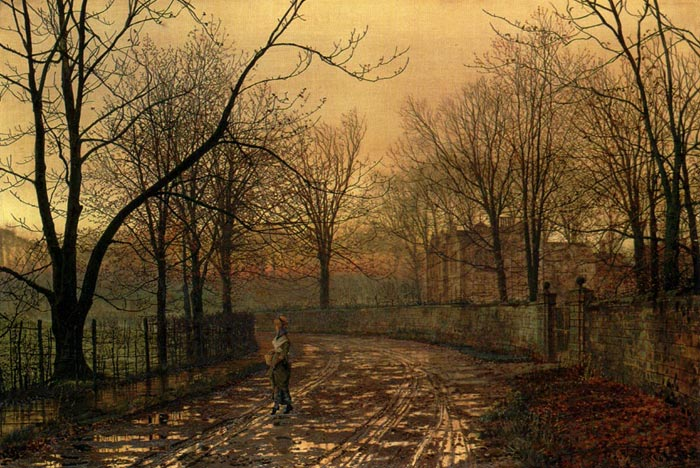 John Atkinson Grimshaw Reproductions-Sixty-Years Ago
