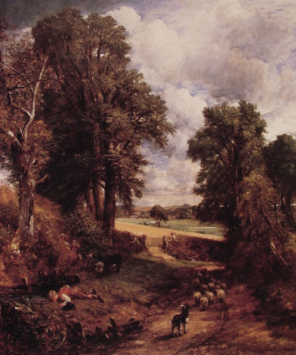 Paintings Reproductions Constable, John The Cornfield, 1826
