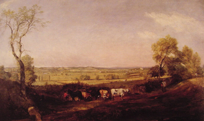 Paintings Reproductions Constable, John Dedham Vale Morning, 1811