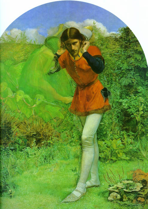 Paintings Reproductions Millais, John Everett Ferdinand Lured by Ariel, 1849-1850