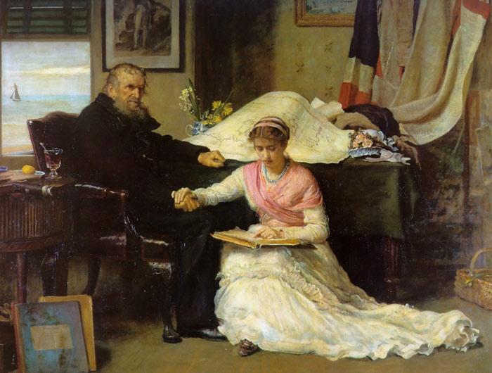 The Blind Girl by John Everett Millais | my daily art display