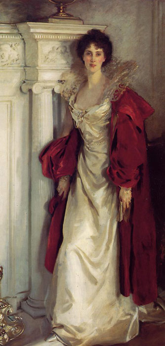 John Singer Sargent Reproductions-Winifred, Duchess of Portland , 1902