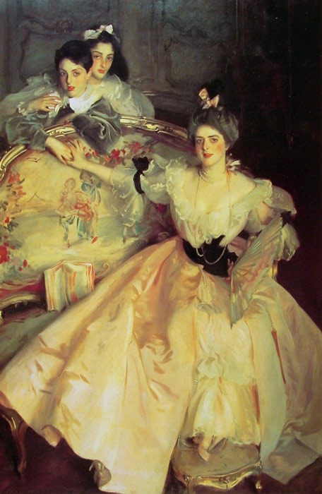 John Singer Sargent Reproductions-Mrs Carl Meyer and her Children,1896