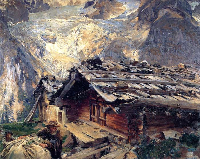 Paintings Reproductions Sargent, John Singer Brenva Glacier , 1910