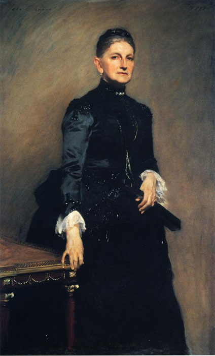 John Singer Sargent Reproductions-Mrs. Adrian Iselin, 1888