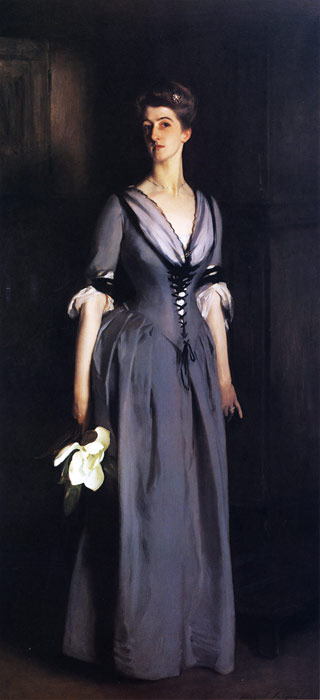 John Singer Sargent Reproductions-Mrs. Albert Vickers , 1884