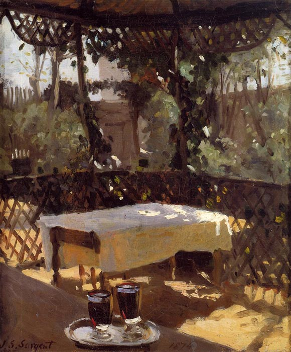 Wineglass , 1875	 Sargent, John Singer Painting Reproductions