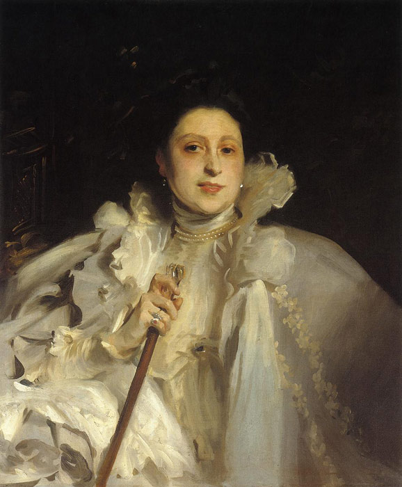 John Singer Sargent Reproductions-Countess Laura Spinola Nunez del Castillo, 1896