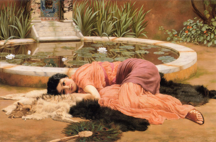 Paintings Godward, John William