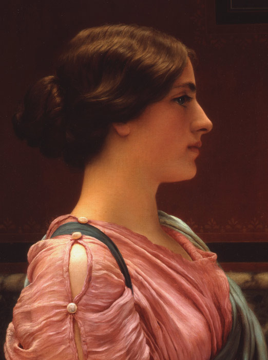 John William Godward Reproductions-A Classical Beauty