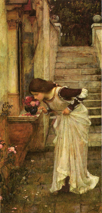 John William Waterhouse Reproductions-At the Shrine, 1895