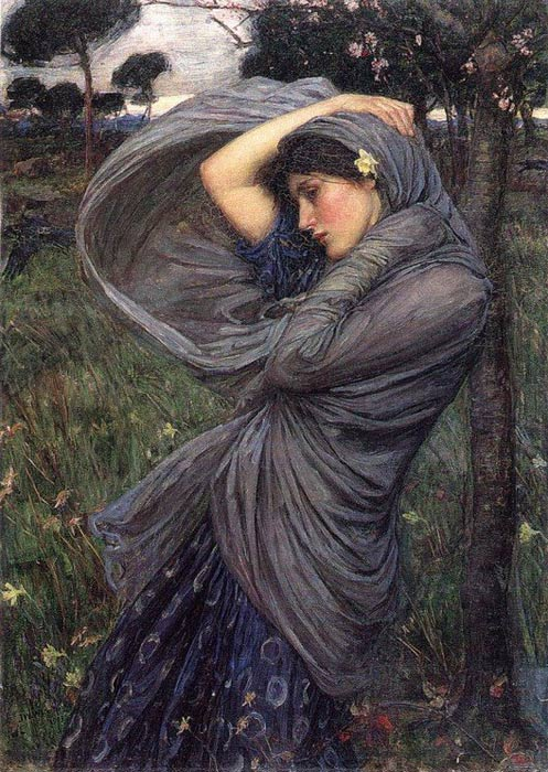 Paintings Reproductions Waterhouse, John William Boreas, 1902