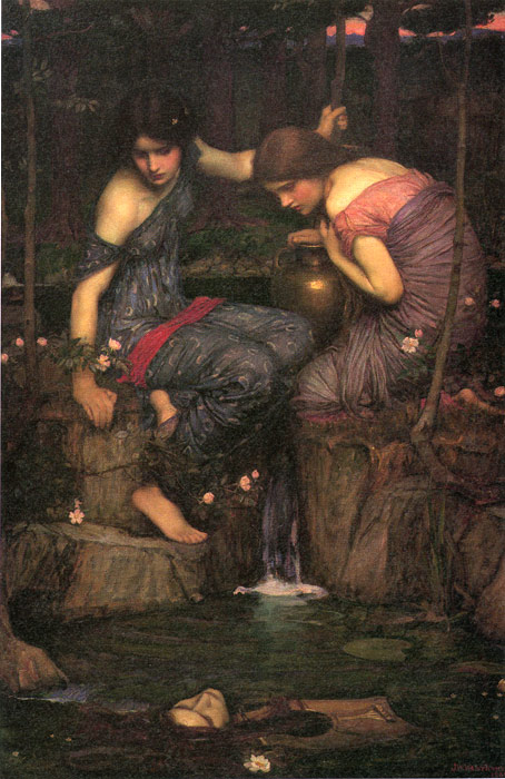 Paintings John William Waterhouse