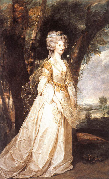 Joshua Reynolds Reproductions-Lady Sunderlin, 1786