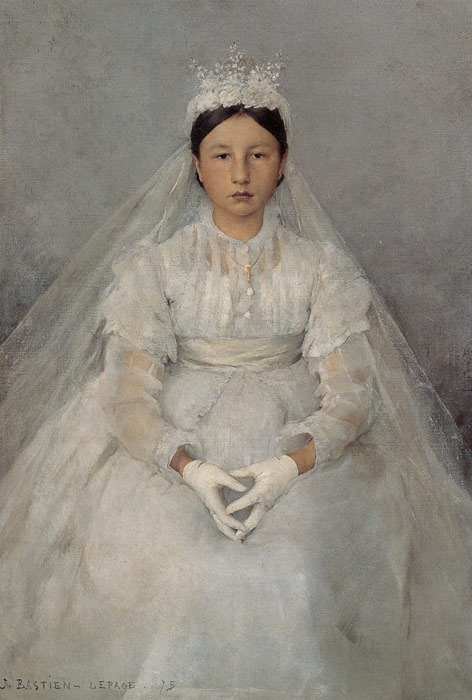 Jules Bastien- Lepage Reproductions- The Communicant,1875