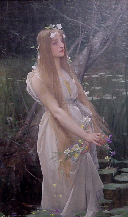 Ophelia Lefebvre, Jules Joseph Painting Reproductions