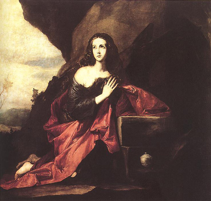 Paintings Reproductions Ribera, Jusepe de Mary Magdalene in the Desert, 1640-1641