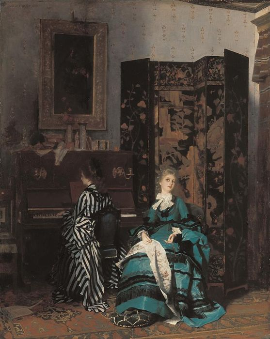 Paintings Reproductions Keller, Albert von Chopin, 1873