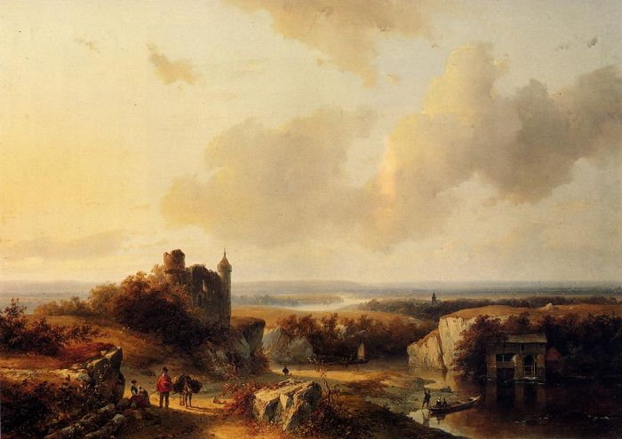 Paintings Barend Cornelis Koekkoek