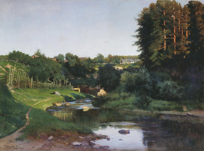 Paintings Konstantin Iakovlev Kryzhitskii