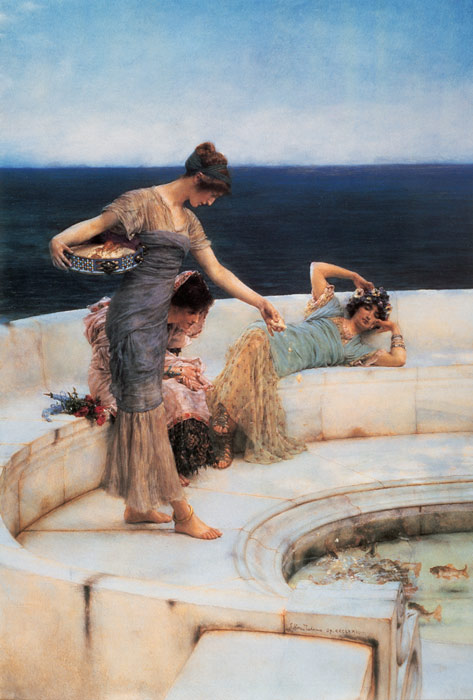 Paintings Reproductions Alma-Tadema,Sir Lawrence Silver Favorites, 1903