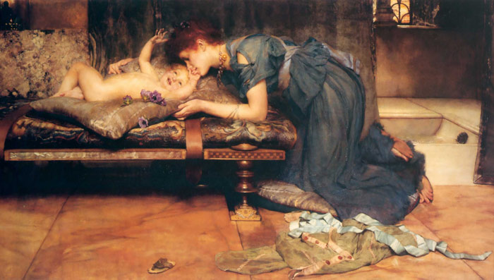 Paintings Reproductions Alma-Tadema,Sir Lawrence An Earthly Paradise, 1891