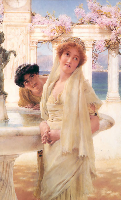 Paintings Reproductions Alma-Tadema,Sir Lawrence A Difference of Opinion, 1896