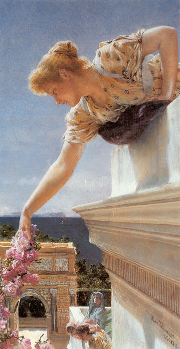 Paintings Reproductions Alma-Tadema,Sir Lawrence God Speed!, 1893