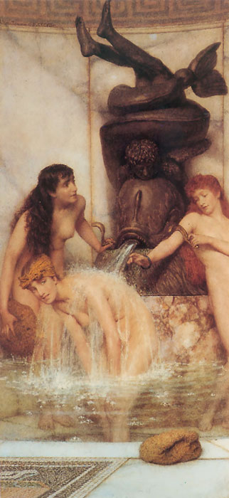 Sir Lawrence Alma-Tadema Reproductions-Strigils and Sponges, 1879
