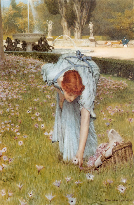 Sir Lawrence Alma-Tadema Reproductions-Flora, 1877